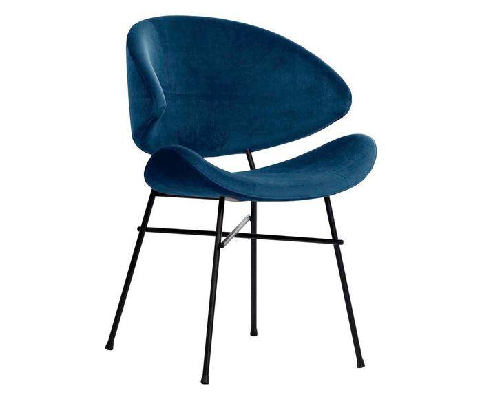 Für Für CheriDunkelblauschwarzEssen Handgefertigter Samt Stuhl Stuhl CheriDunkelblauschwarzEssen Samt Handgefertigter nON8wPkZ0X
