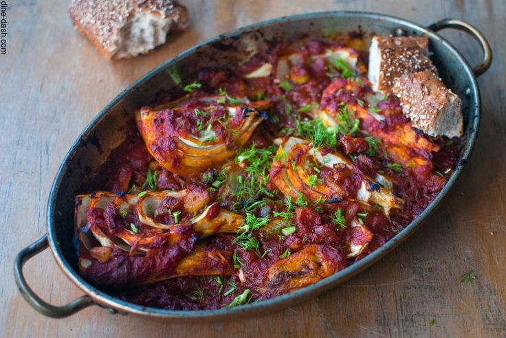 D&D | Fennel roasted with tomato sauce