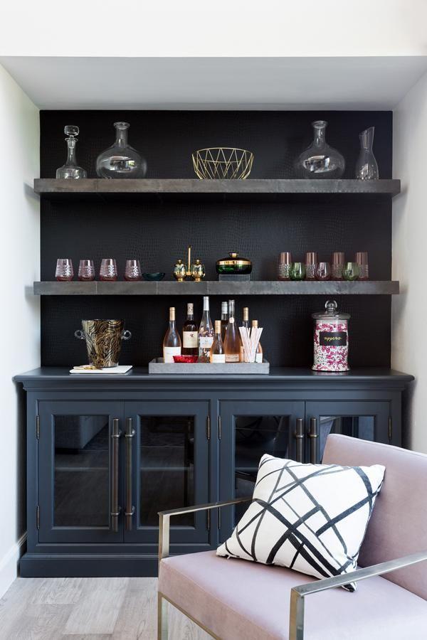 Designer Spotlight Jenn Feldman Arianna Belle Living Room Bar Built In Bar Dining Room Bar