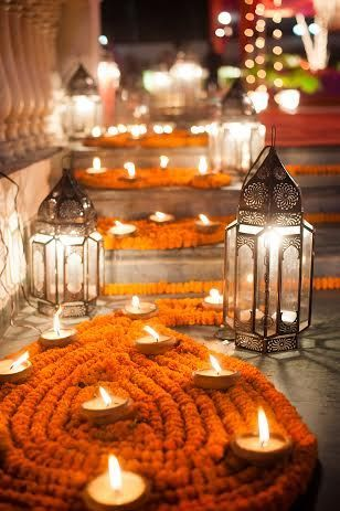 Soma Sengupta Indian Bridal Decorations- An Enchanted Evening!