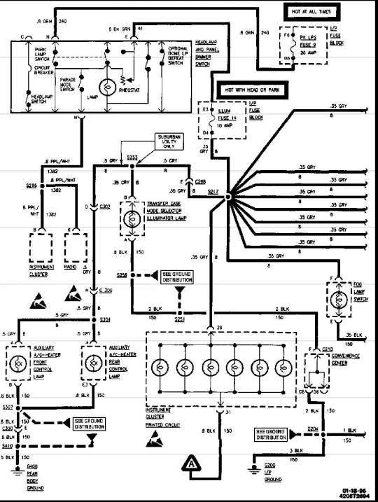 17  1996 Chevy Truck Wiring Diagram1996 Chevrolet Truck