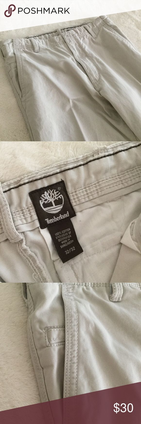 Timberland men's khaki pants Excellent condition. No wear or tear. Men's Timberland pants. Size 32x32. Tan Timberland Pants Chinos & Khakis