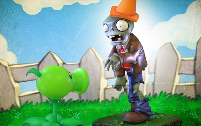 PvZ statues available from Gaming Heads - http://www.gamezebo.com/news/2013/10/14/gaming-heads-announce-new-limited-edition-pvz-statues
