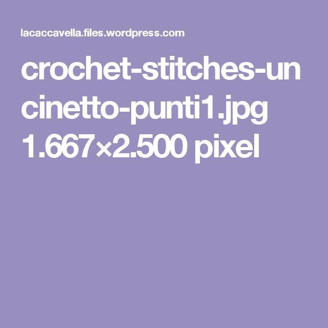 crochet-stitches-uncinetto-punti1.jpg 1.667×2.500 pixel