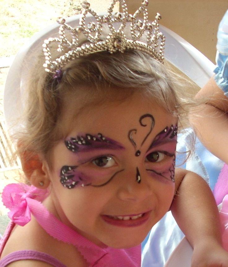 Sweet & Cake: Pintura Facial - aniversario da Isabelle