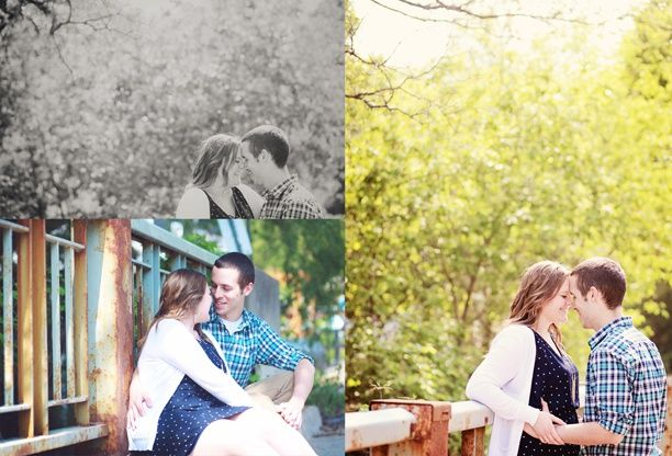 Shawna & Zach | Engagement Session | Spring Engagement Session | K. Thompson Photography