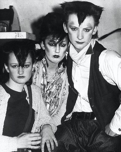 Blitz- New Romantics - young Boy George - a photo a friend of Nevan's took of the New romantic movement when it was starting to take off and mix with goth traditions.