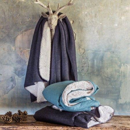 Silja Faux Sheepskin Blankets - Festive Home - Christmas Home - Christmas