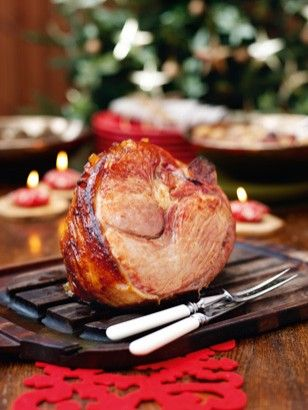 The perfect Christmas ham, or any time in  winter. The leftovers are just as good as first serving too. From Nigella Christmas.
