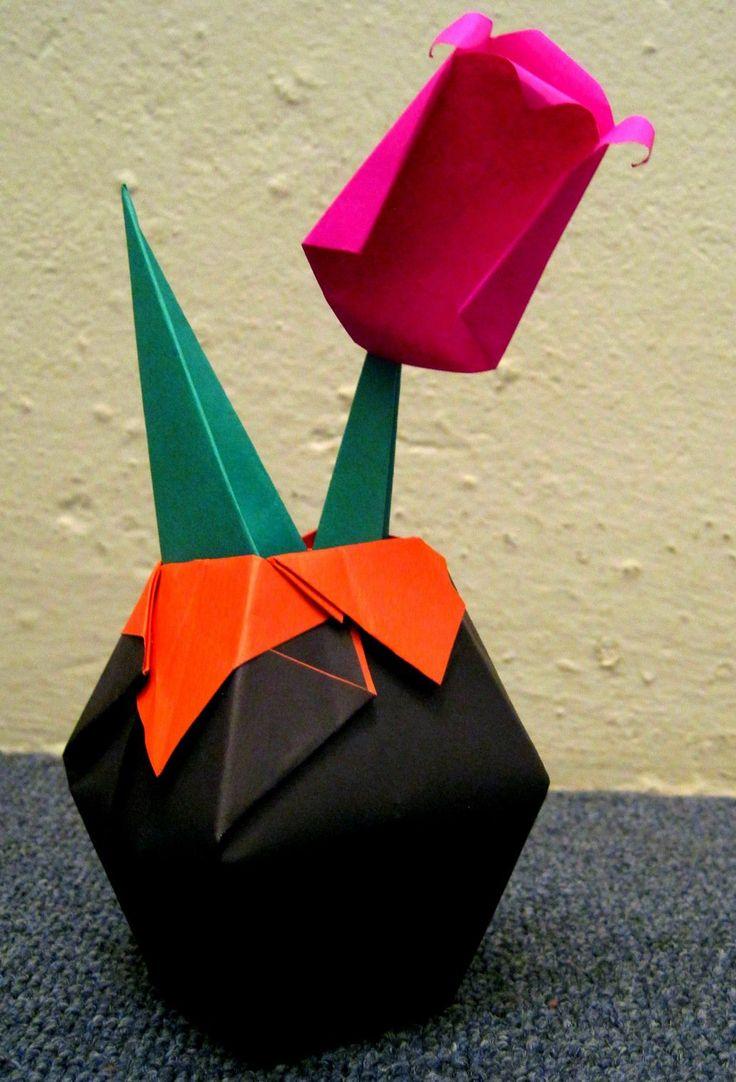 Tulip & Vase