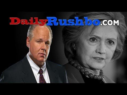 Rush Limbaugh Explains Why Hillary Isn't 50 Points Ahead