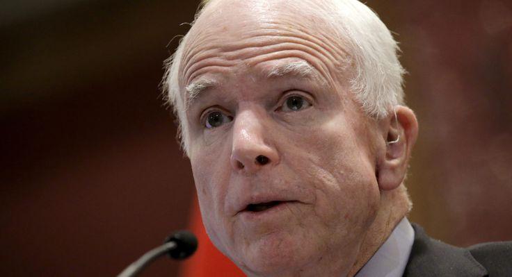 McCain: Trump's attacks on press are 'how dictators get started' #Politics #iNewsPhoto