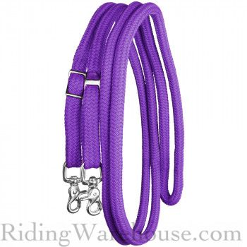 RJ Manufacturing Trail Reins - Round Yacht Rope - 10'