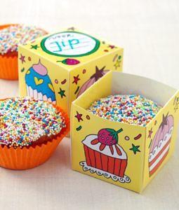 Muffin doosje - Knutsel ideeën