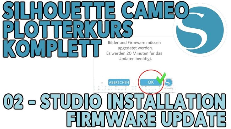 Plotterkurs für Anfänger und Profis   02   Silhouette Studio installatio...