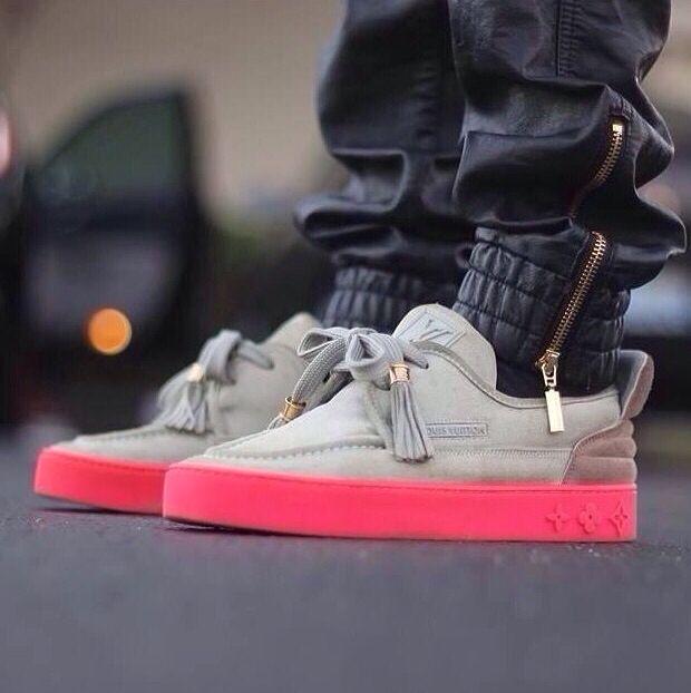 Louis Vuitton Kanye men's shoe