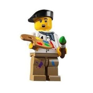 LEGO Set 8804 SEALED MINIFIGURES SERIES 4 -- Artist loose