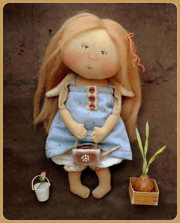 """Ангел по мотивам картины Е Гапчинской -"""" У каждой Девочки Свой сад"""""""