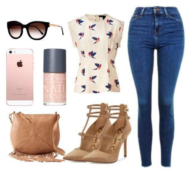 """""""Untitled #749"""" by essynce21 ❤ liked on Polyvore featuring Sam Edelman, Topshop, Marc by Marc Jacobs, T-shirt & Jeans, Jack Wills and Thierry Lasry"""