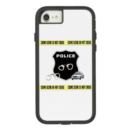Police Crime Scene Case-Mate Tough Extreme iPhone 8/7 Case - diy individual customized design unique ideas