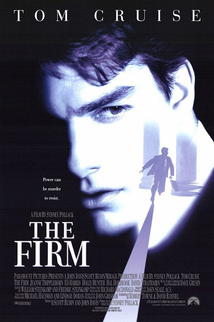 The Firm is a 1993 American legal thriller film directed by Sydney Pollack  and starring Tom Cruise , Jeanne Tripplehorn , Gene Ha.