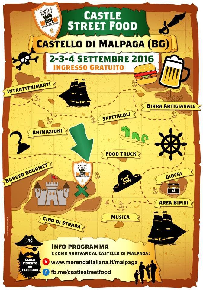 Castle Street Food 2 - 3 - 4 Settembre Cavernago (BG) 2016