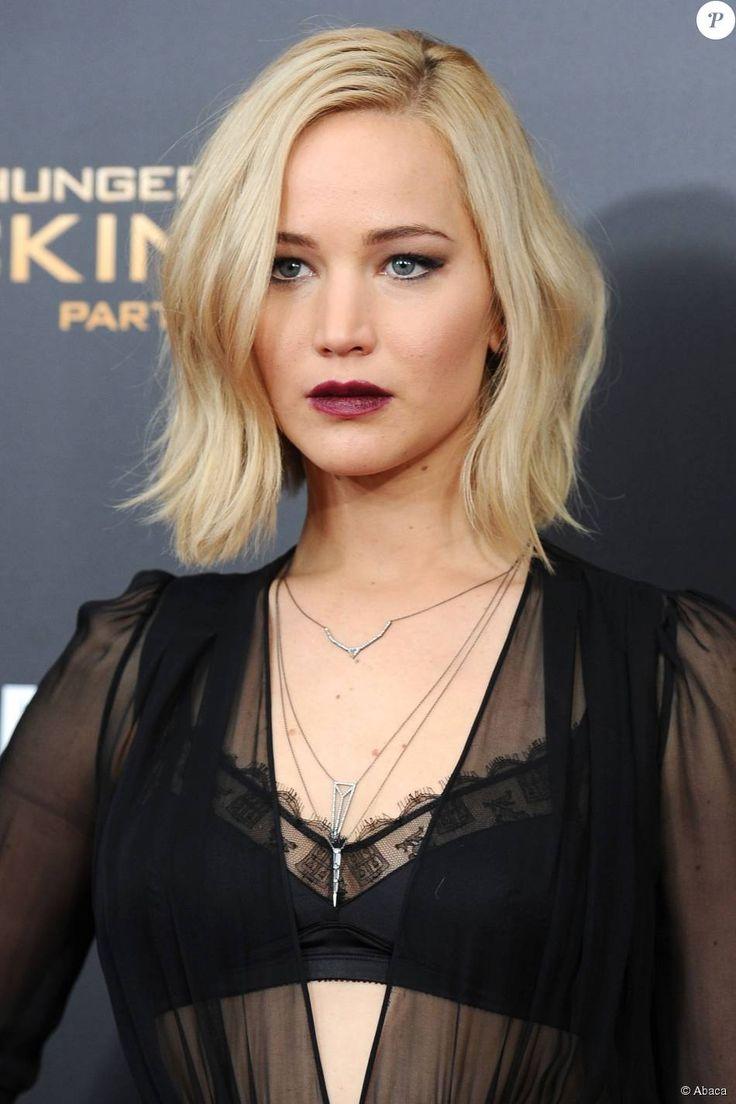 Jennifer Lawrence lors de la première The Hunger Games: Mockingjay - Part 2 au AMC Loews Lincoln Square à New York, le 18 novembre 2015.