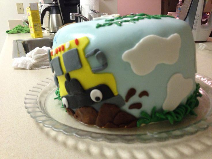 More little blue truck birthday cake  Little Blue Truck  Pinterest