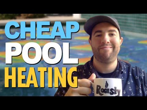 Simple easy cheap homemade above ground solar pool heater free energy - YouTube