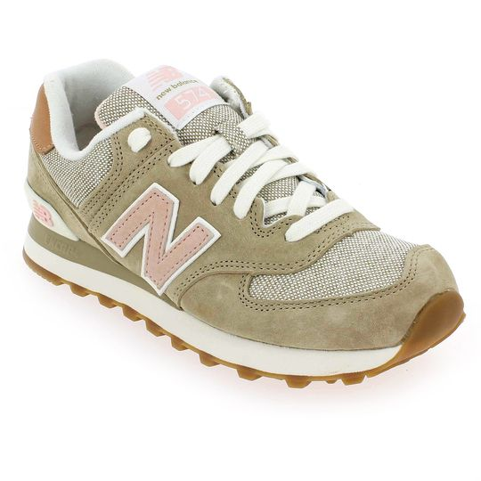 basket new balance 574 beige