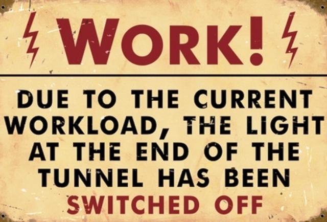 Work Overload Make Work Fun Work Humor Funny Signs Vintage Metal Signs