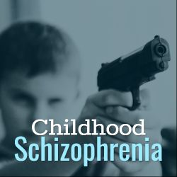 Childhood schizophrenia is extremely rare. Fact, it is estimated that it occurs in less than 1 in 10,000 children younger than 13. See causes and treatment