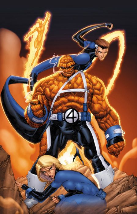 Fantastic Four  Auction your comics on http://www.comicbazaar.co.uk