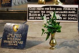 Shakespeare died in 1616. (Shakespeare Bio 5)