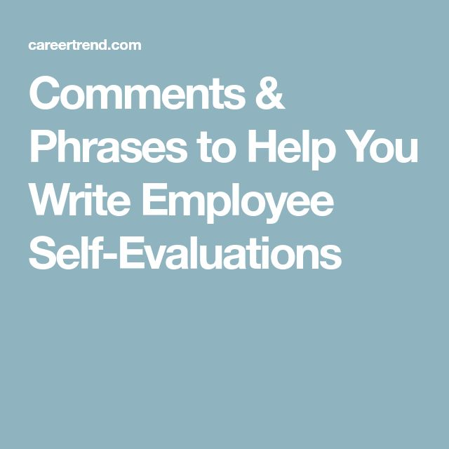 The 25+ best Self evaluation employee ideas on Pinterest - self evaluation