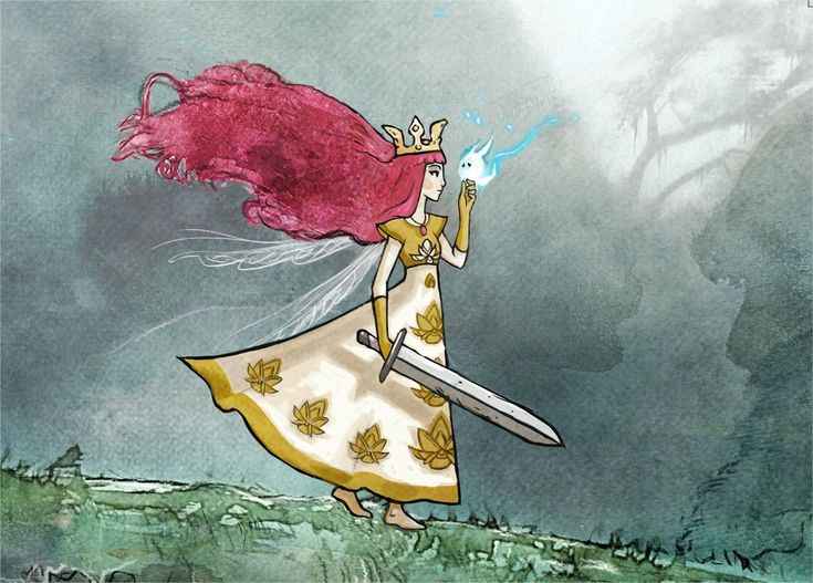 CHILD OF LIGHT / VIDEO GAME / MAIN CHARACTER DESIGN on Behance