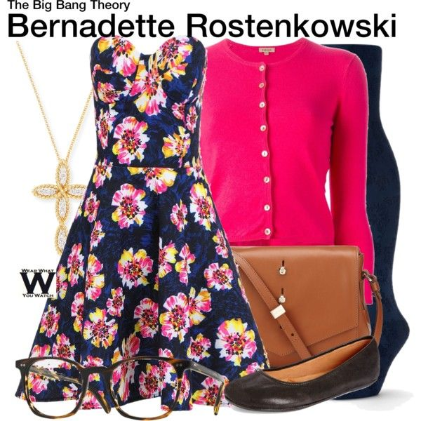 Inspired by Melissa Rauch as Bernadette Rostenkowski on The Big Bang Theory.