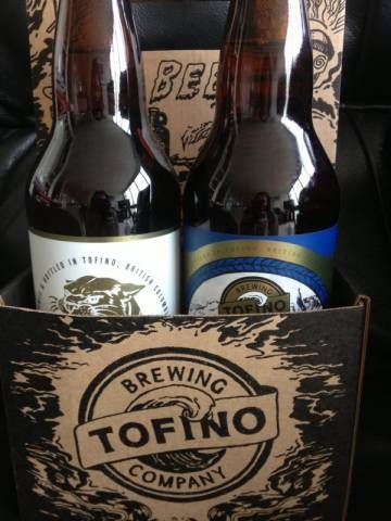 Tried samples from Tofino Brewing Company right at the brewery on a recent visit to Tofino and now there is a permanent space for a few in our fridge.