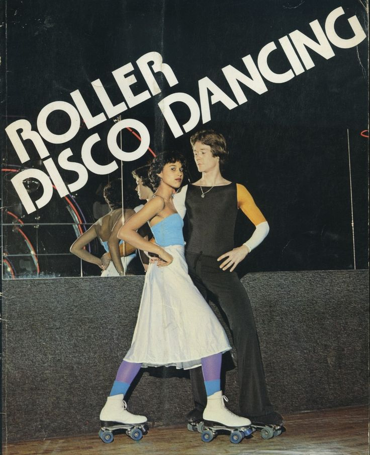 I went to roller disco skating when I was a teenager, and nobody dressed like this.  ;)