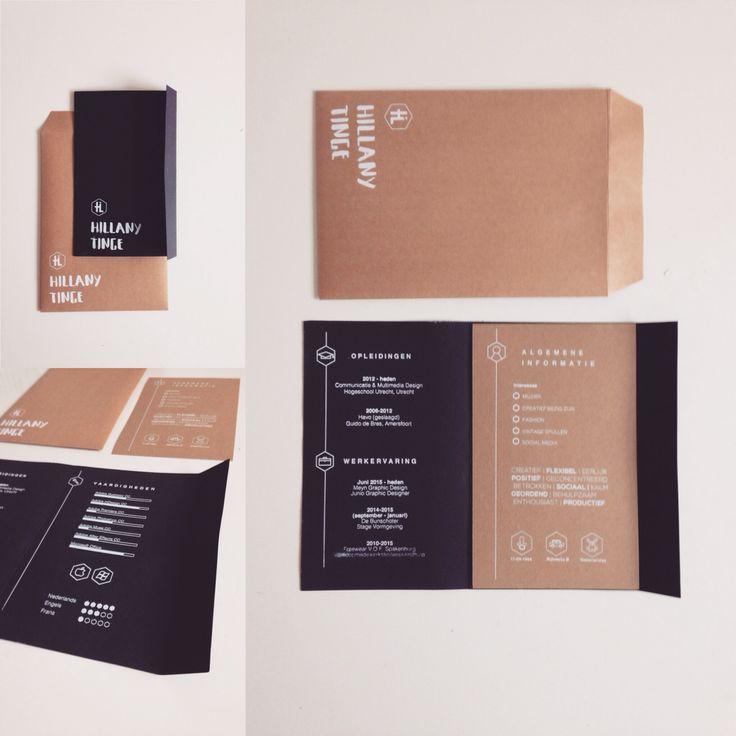 Resume on behance - CV - graphiv design -zeefdruk