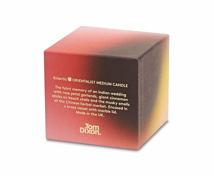 Eclectic Orientalist Candle Medium | Candles & Fragrance | TOMDIXON.NET