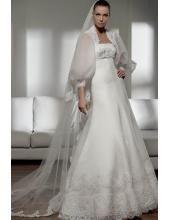 Wunderschönes Brautkleid aus Spitze A-Linie kaufen online 2012