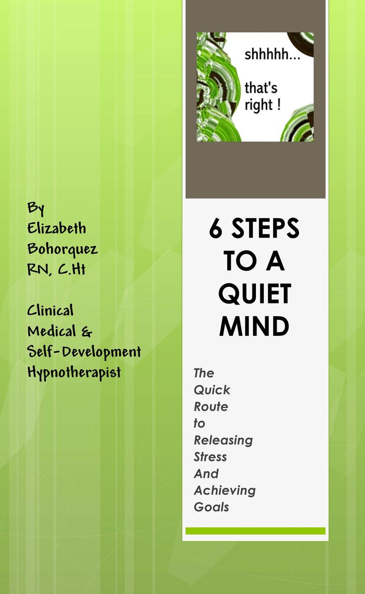 Quieting The Mind Is Key For