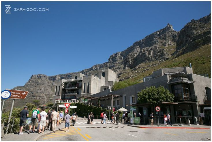 Cape Town, South Africa. Table Mountain cable car. Tourist attraction. ZaraZoo Photography