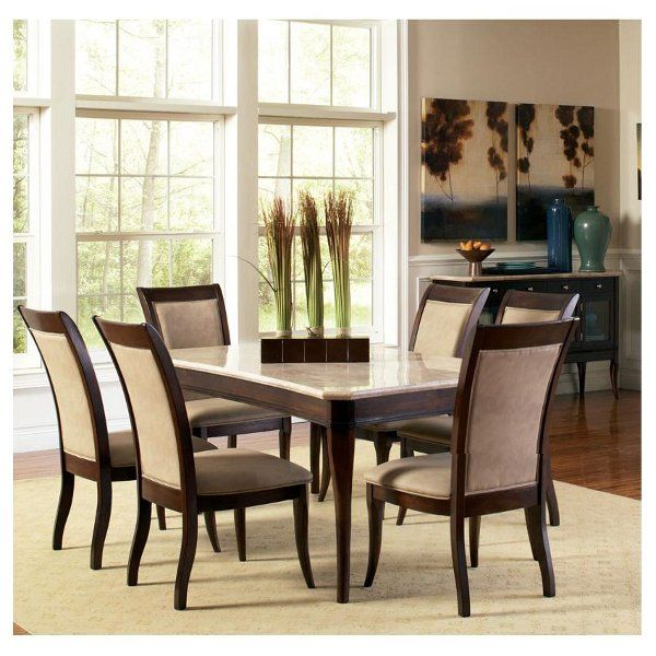 Marseille Dining Table & 6 Side Chairs MS8