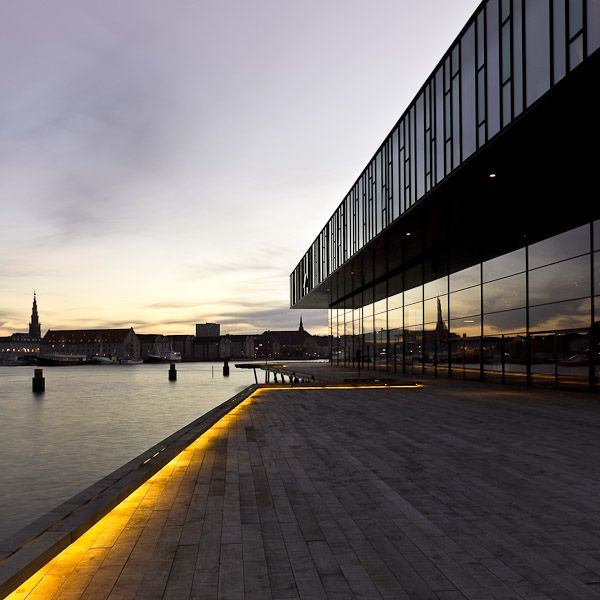 Royal Playhouse by Copenhagen Harbour. Architects: Lundgaard & Tranberg. Image by Adam Mørk.