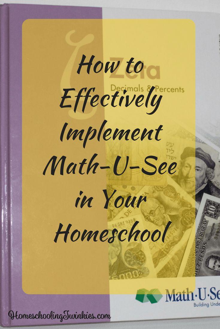 Best 25+ Math u see ideas on Pinterest | Online homeschool ...