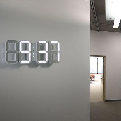 Futuristic Time Stuffs Led Wall Clock Clock Und Design