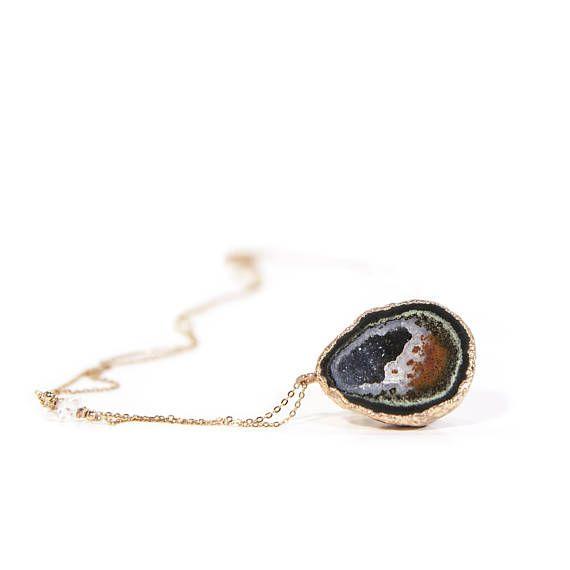 Raw Stone Jewelry Gift For Her Raw Stone Jewelry Raw Stone