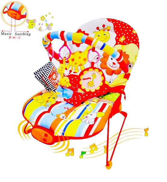 Baby Bouncer Rocker Reclining Chair Soothing Music Vibration, Toys, Girl / Boy